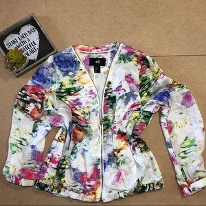 H&M Floral jacket size 10
